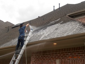 Roof Stain Removal Spring Texas