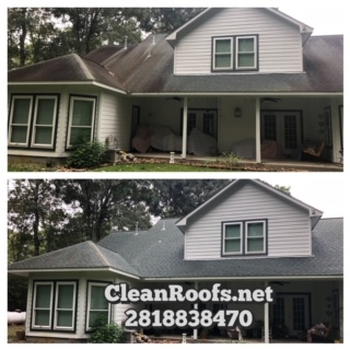 Huffman Texas Roof Cleaning